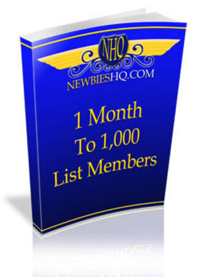 Product picture 1 Month To 1,000 List Members
