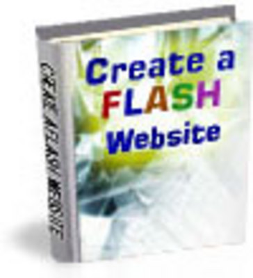 Product picture Create A Flash Website Without Any Coding Knowledge